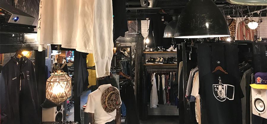 ファッション業界と、音楽業界で活躍する当店のGM AKEEM氏がプロデュースした店内