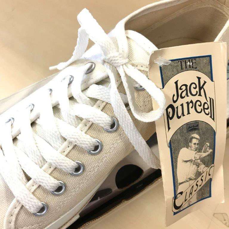 90s CONVERSE JACK PURCELL DEAD STOCK NOS ジャックパーセル