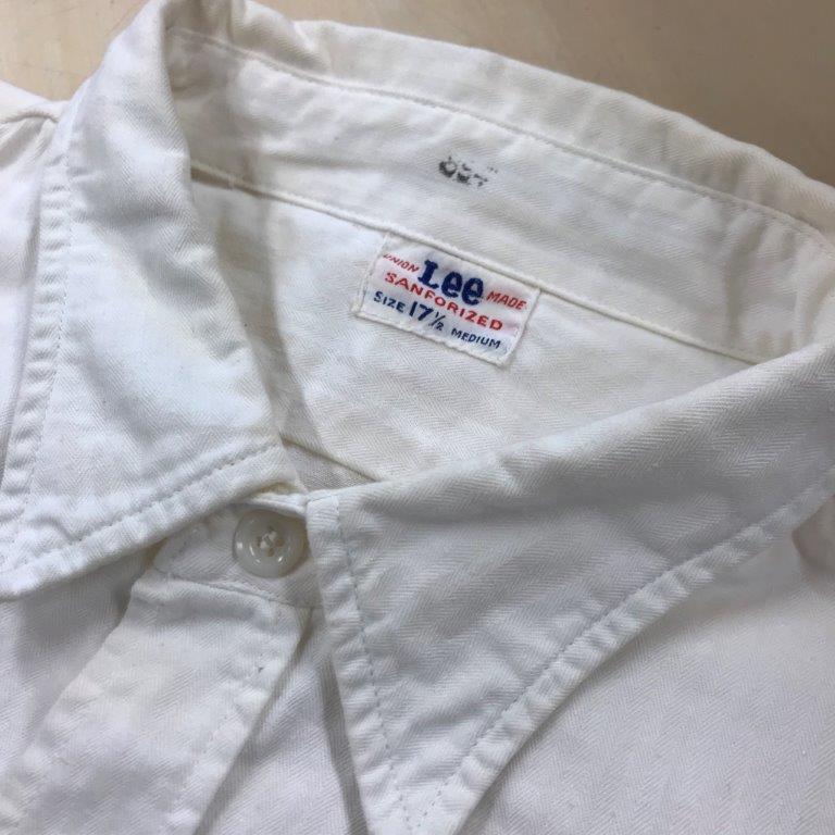 50s Lee HBT ワークシャツ